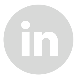 iconfinder linkedin circle gray 107149