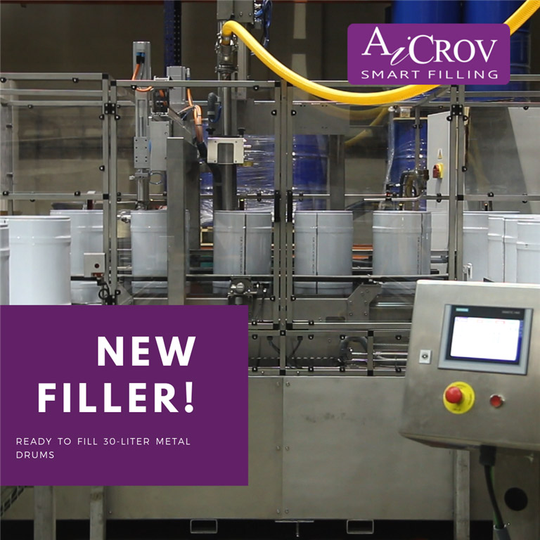 New Filler drum filling spain